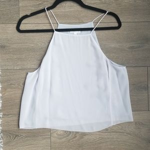 Wilfred 100% silk crop camisole tank size small